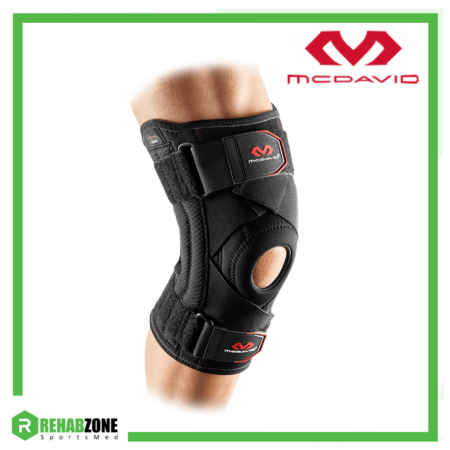 McDAVID 425 Level 2 Knee Support w/ stays & cross straps Rehabzone Singapore