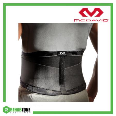 McDavid 495 Level 2 Back Support w 5 Steel Stays Frame Rehabzone Singapore