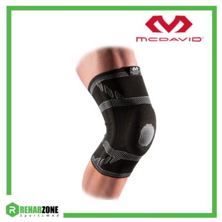 McDavid 5133 Level 2 Knee Sleeve 4-Way Elite Elastic w Gel Buttress And Stays Rehabzone Singapore
