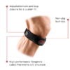 McDavid Level 2 Knee Strap patella (Black) Features Rehabzone Singapore