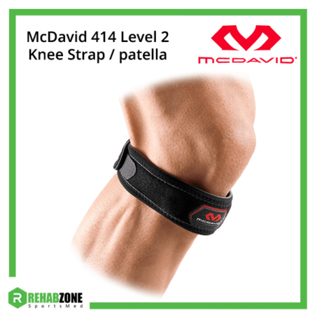 McDavid Level 2 Knee Strap patella (Black) Frame Rehabzone Singapore