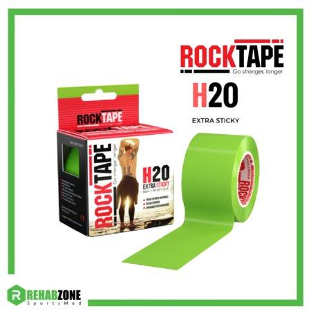 ROCKTAPE H2O 5cm x 5m Lime Rehabzone Singapore