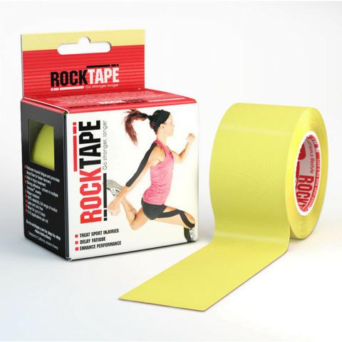 Rocktape 5cm X 5m Yellow Rehabzone Singapore