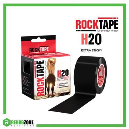 ROCKTAPE H2O 5cm x 5m Black Rehabzone Singapore