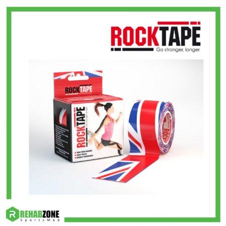 RockTape Kinesiology Tape 5cm x 5m Union Jack Frame Rehabzone Singapore