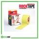RockTape Kinesiology Tape 5cm x 5m Yellow Frame Rehabzone Singapore