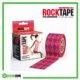 RockTape Kinesiology Tape 5cm x 5m Argyle Pink Frame Rehabzone Singapore