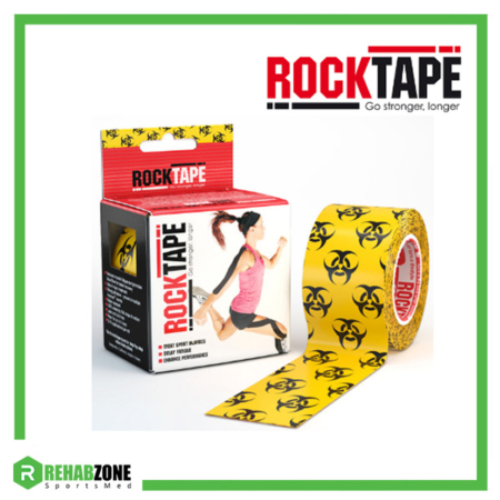 RockTape Kinesiology Tape 5cm x 5m Biohazard Rehabzone Singapore