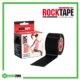 RockTape Kinesiology Tape 5cm x 5m Black Frame Rehabzone Singapore