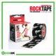 RockTape Kinesiology Tape 5cm x 5m Black Skull Frame Rehabzone Singapore