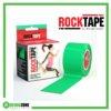 RockTape Kinesiology Tape 5cm x 5m Green Frame Rehabzone Singapore