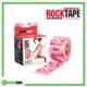 RockTape Kinesiology Tape 5cm x 5m Pink Camo Frame Rehabzone Singapore