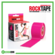 RockTape Kinesiology Tape 5cm x 5m Pink Frame Rehabzone Singapore