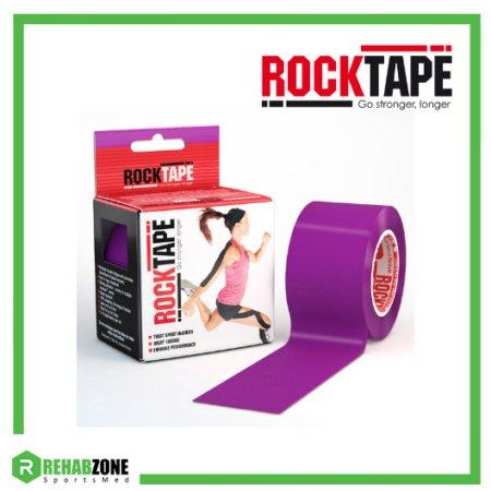 RockTape Kinesiology Tape 5cm x 5m Purple Frame Rehabzone Singapore