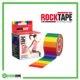 RockTape Kinesiology Tape 5cm x 5m Rainbow Frame Rehabzone Singapore