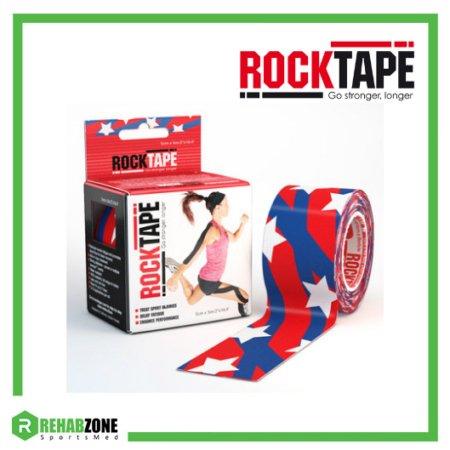 RockTape Kinesiology Tape 5cm x 5m Stars & Stripes Frame Rehabzone Singapore