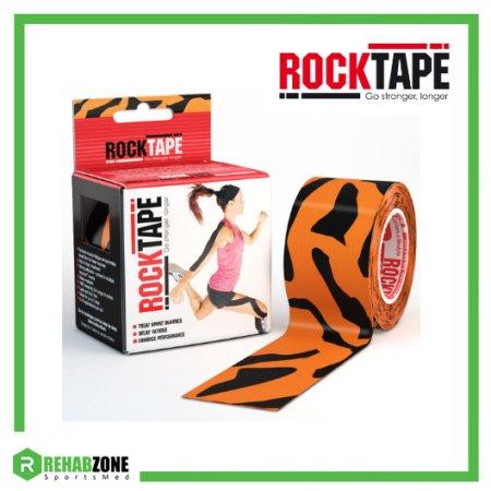 RockTape Kinesiology Tape 5cm x 5m Tiger Frame Rehabzone Singapore