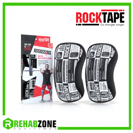 ROCKTAPE® Assassins® Knee Sleeves/Manifesto 7mm Rehabzone Singapore