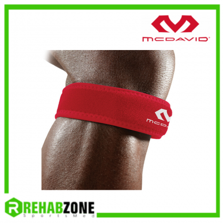 McDAVID 414 Level 2 Knee Patella Strap Red Rehabzone Singapore