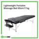 Lightweight Portable Massage Bed 60cm 11kg Rehabzone Singapore