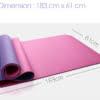 TPE Yoga Mat 6mm Dimensions Rehabzone Singapore