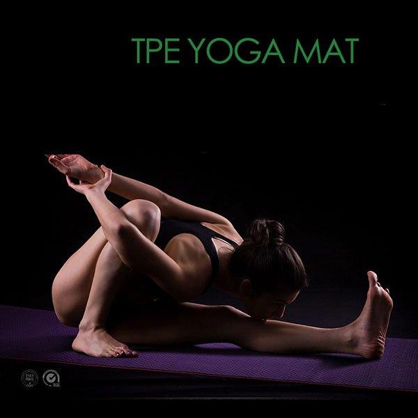 TPE Yoga Mat Lifestyle