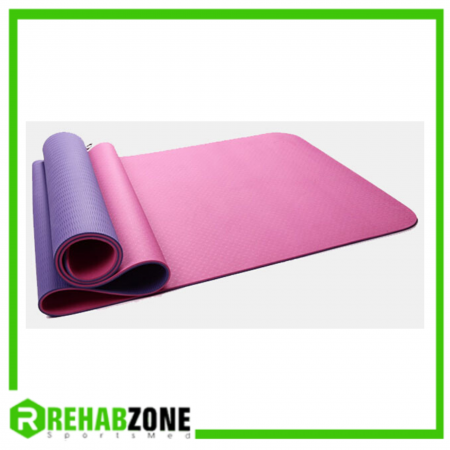 TPE Yoga Mat w/ Carry Case Rehabzone Singapore