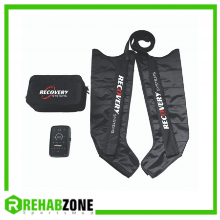 RECOVERY SYSTEMS RS004 Black Max 2 Compression Boots Rehabzone Singapore