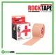 RockTape Rx Kinesiology Tape 5cm x 5m Beige Frame Rehabzone Singapore
