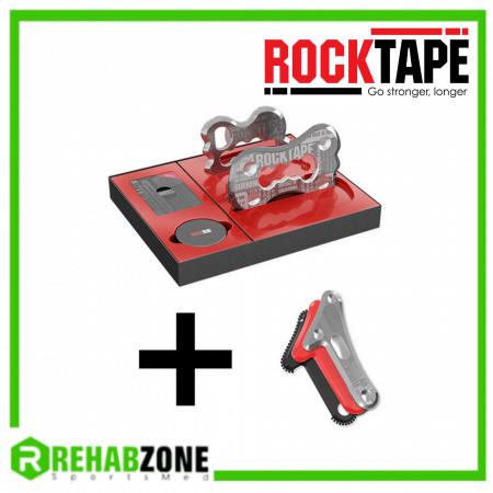 ROCKBlades 2.0 + RockBlades Mohawk Attachment-Compatible Complete IASTM System by ROCKTAPE Rehabzone Singapore