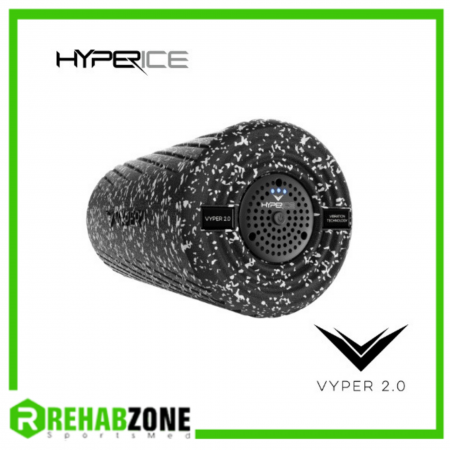 Vyper 2.0 Vibrating Foam Roller / Grey Camo Rehabzone Singapore