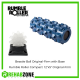 "RUMBLE ROLLER® Set / Original-Firm Density / Blue 12"" Roller + White Beastie Ball with Base Rehabzone Singapore"