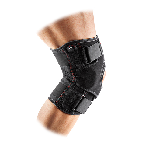 McDavid 4205 VOW Knee Wrap Hinges & Straps Side View Rehabzone Singapore