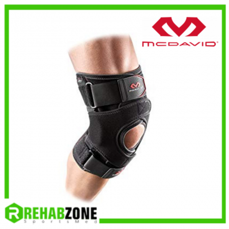 McDAVID 4203 Level 2 VOW™ Versatile Over Wrap Knee Wrap w/ Stays & Straps Rehabzone Singapore