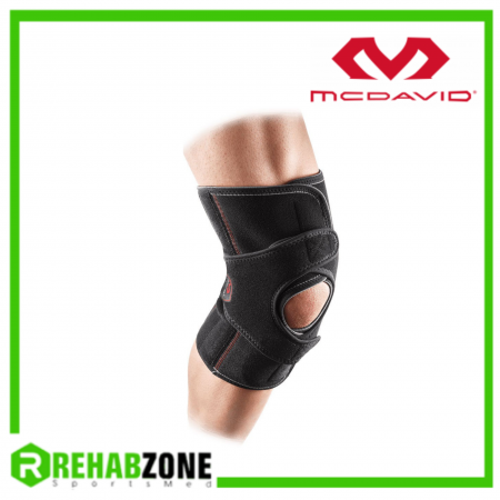 McDAVID 4201 Level 2 VOW™ Versatile Over Wrap Knee Wrap w/ Stays Rehabzone Singapore
