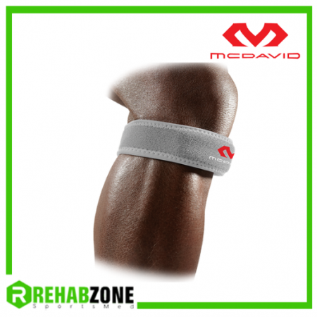 McDAVID 414 Level 2 Knee Patella Strap / Grey Rehabzone Singapore