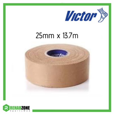 Victor Professional Rigid Strapping Sports Tape 25mm x 13.7m Rehabzone Singapore