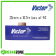 Victor Professional Rigid Strapping Sports Tape 25mm x 13.7m (Box of 40 rolls) Rehabzone Singapore