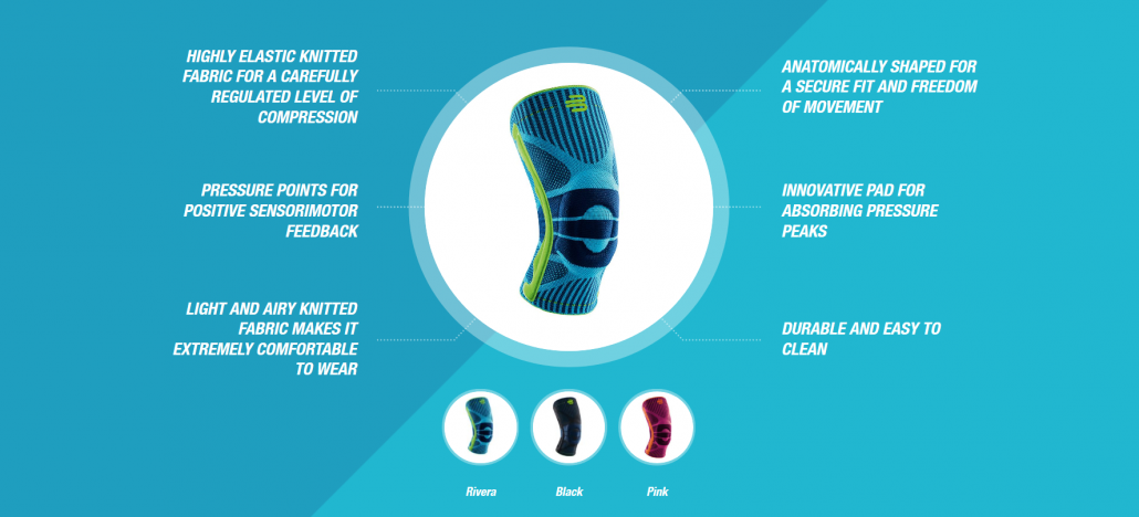 Bauerfeind Sports Knee Support Features Rehabzone Singapore