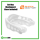 SHOCK DOCTOR Gel Max 6100 Mouthguard White/Clear Rehabzone Singapore