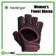 Harbinger Women's Power Gloves (Black/Merlot) Frame Rehabzone Singapore