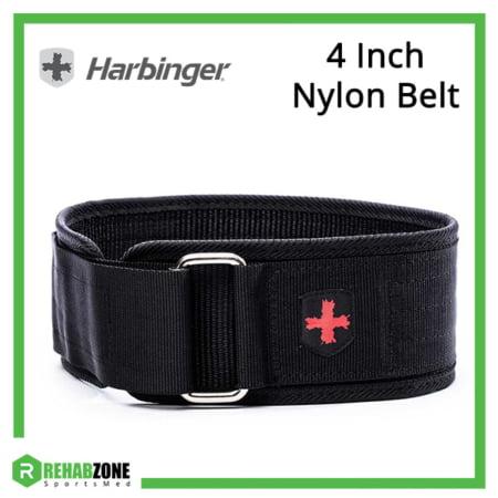 Harbinger 4 Inch Nylon Belt Frame Rehabzone Singapore