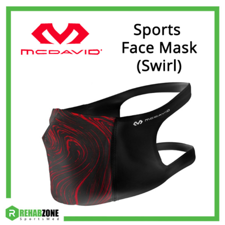McDavid Sports Face Mask (Swirl) Frame Rehabzone Singapore