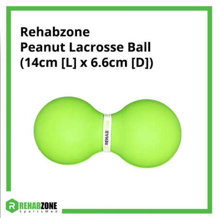 Rehabzone Peanut Lacrosse Ball (14cm x 6.6cm) Rehabzone Singapore