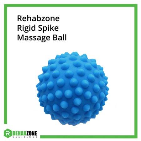 Rehabzone Rigid Spike Massage Ball Blue Frame Rehabzone Singapore
