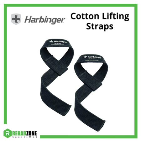 Harbinger Cotton Lifting Straps Frame Rehabzone Singapore