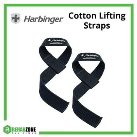 Harbinger Cotton Lifting Straps Frame Rehabzone Singapore
