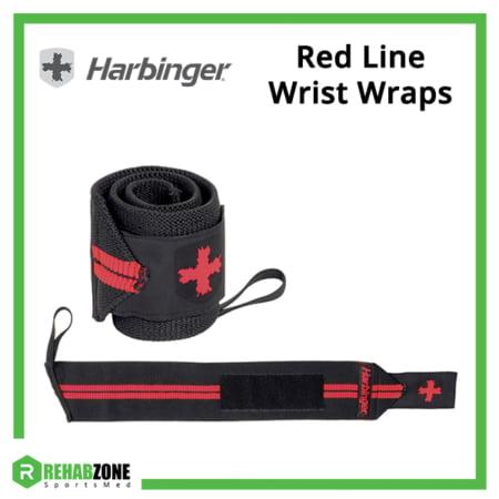Harbinger Red Line Wrist Wraps Frame Rehabzone Singapore