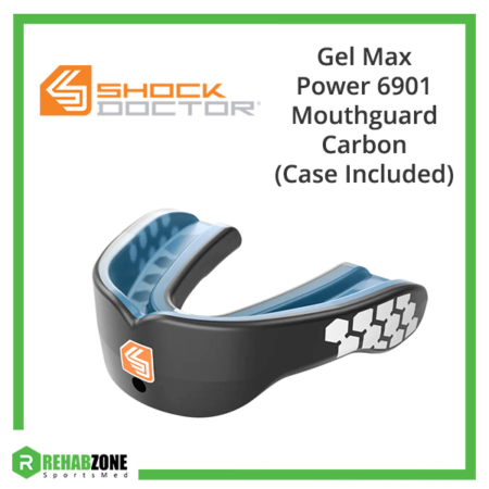 Shock Doctor Gel Max Power 6901 Carbon Frame Rehabzone Singapore