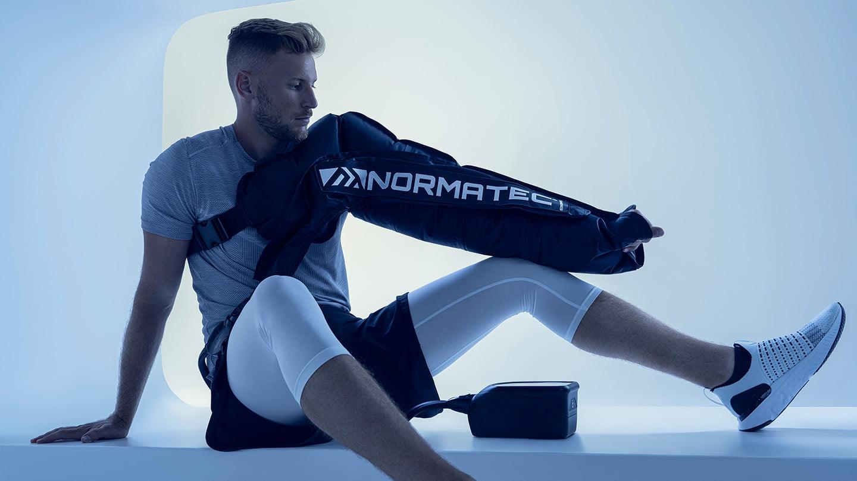 Normatec Arm Attachment Lifestyle Rehabzone Singapore